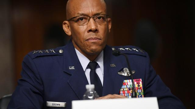 Gen. Brown on extremism in the Air Force, threats from China