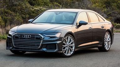 2019 Audi A6 & 2019 Nissan Leaf Plus