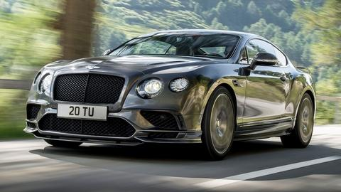 2018 Bentley Continental Supersports & Mid-size SUV Challeng