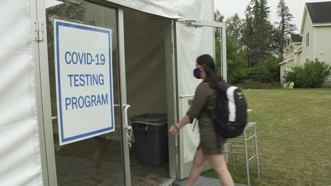 PBS NewsHour -- How this Maine college is trying to control COVID-19