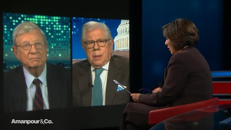 """Amanpour and Company: Carl Bernstein: """"Anything Is Possible in This Environment"""""""