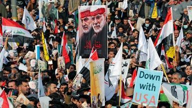 Pro-Iran militias in Iraq grow hostile toward the U.S.