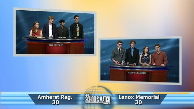 As Schools Match Wits: Semifinal #1: Amherst Regional vs. Lenox (May 26, 2018)