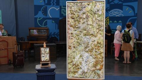 Antiques Roadshow -- S21 Ep14: Appraisal: 1984 & 1987 Larry Poons Mixed Media Wor