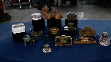 Appraisal: 19th-20th C. Inkwell Collection