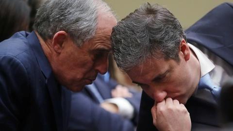 PBS NewsHour -- News Wrap: Cohen lawyer defends denials over pardon