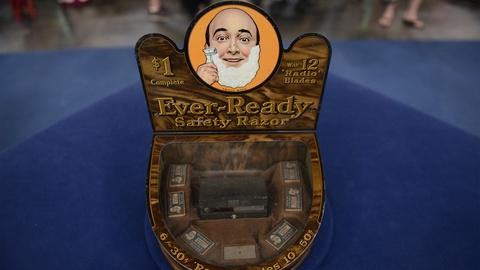 Antiques Roadshow -- S21 Ep14: Appraisal: Ever-Ready Razor Counter Display, ca. 1