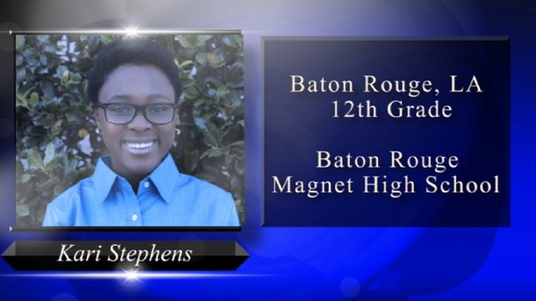 Louisiana Young Heroes: 2018 Louisiana Young Heroes - Kari Stephens