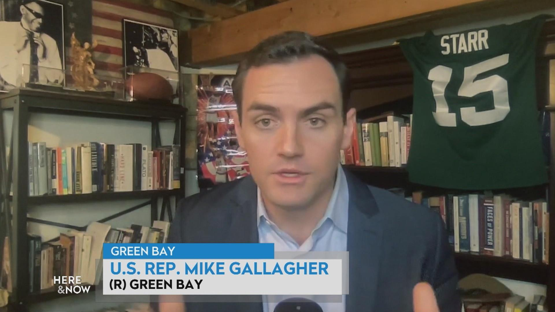 Gallagher Reacts to Biden's First-Year Agenda