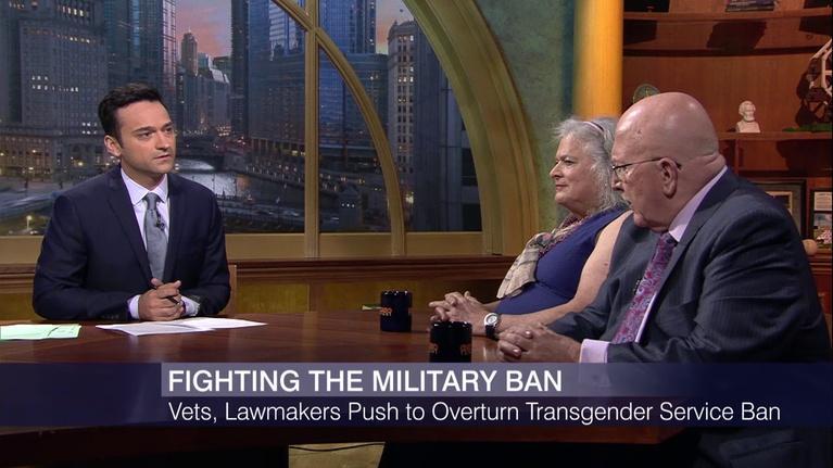 Chicago Tonight: Veterans, Lawmakers Push to Overturn Transgender Service Ban