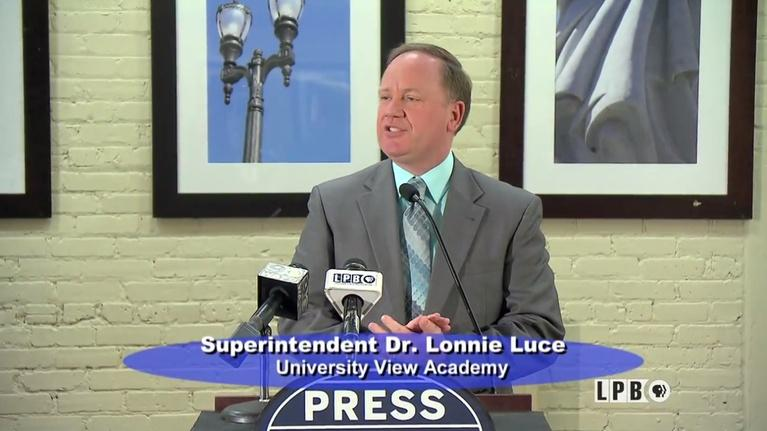 Press Club: 05/15/17 - Lonnie Luce, Superintendent, University View Acad