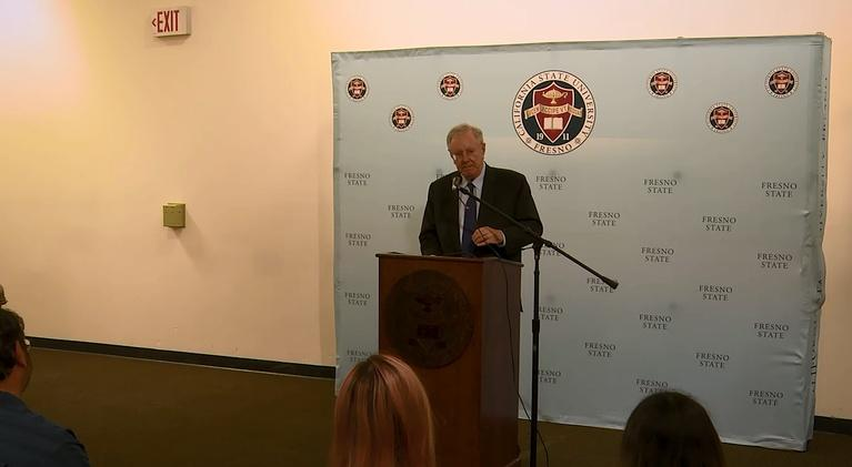byYou News/Public Affairs: Steve Forbes Speaks at Fresno State