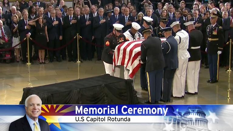 Arizona PBS: John McCain memorial ceremony in Washington, D.C.