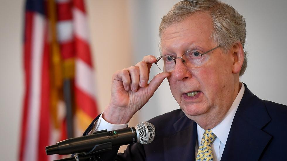 Senate health care battle goes into overtime image
