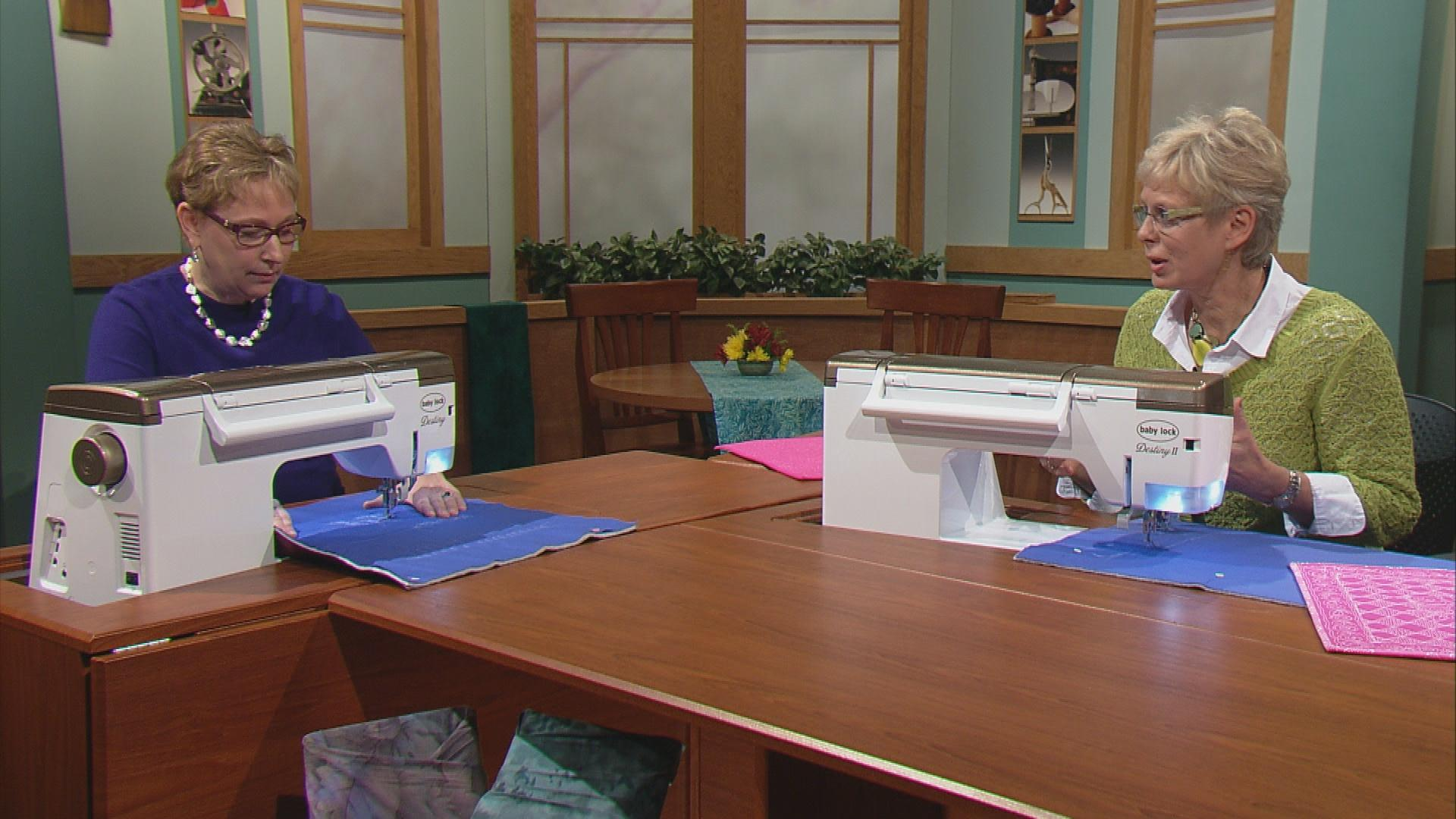 Sewing with nancy pbs sewing with nancy free motion quilting 1 2 3 part 1 jeuxipadfo Image collections
