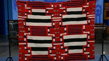Appraisal: Navajo Chief's Blanket, ca. 1875