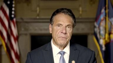 Former Cuomo aide: 'he embraced me a little bit too tight'