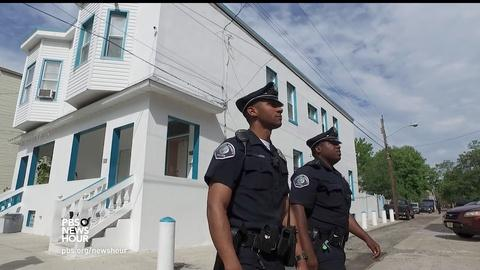 PBS NewsHour -- Camden rethinks policing to build trust