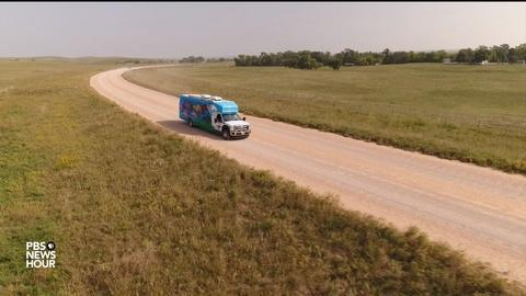 PBS NewsHour -- For these Native American artists, business comes by bus