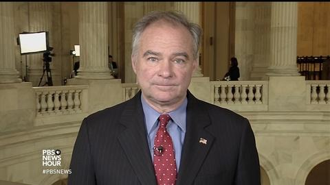 PBS NewsHour -- Kaine: Comey firing 'clear attempt' to block Russia probe