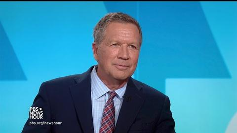 PBS NewsHour -- John Kasich: Nothing works if we're always fighting