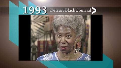 American Black Journal -- 1993 DBJ Clip: Historic Detroit Landmark on Livernois Ave.