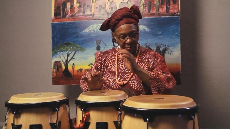 Traditions: Ohio Heritage Fellows: Linda Thomas Jones, African Drummer