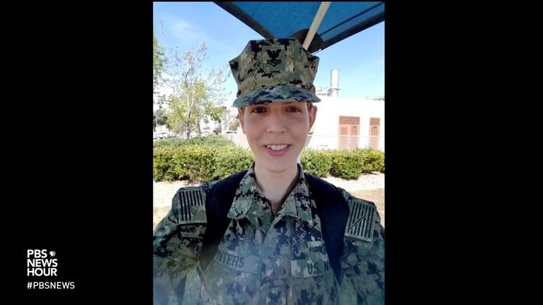 PBS NewsHour: What military service means for this transgender sailor