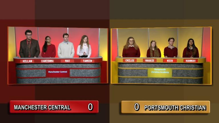 Granite State Challenge: Manchester Central Vs Portsmouth Christian
