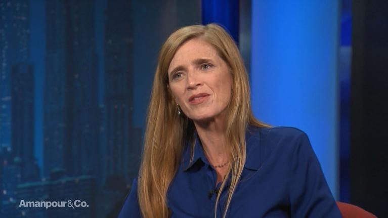 Amanpour and Company: Samantha Power on Obama, Syria and the State of US Politics