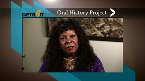 American Black Journal -- Detroit 67 Oral History Project: Martha Reeves