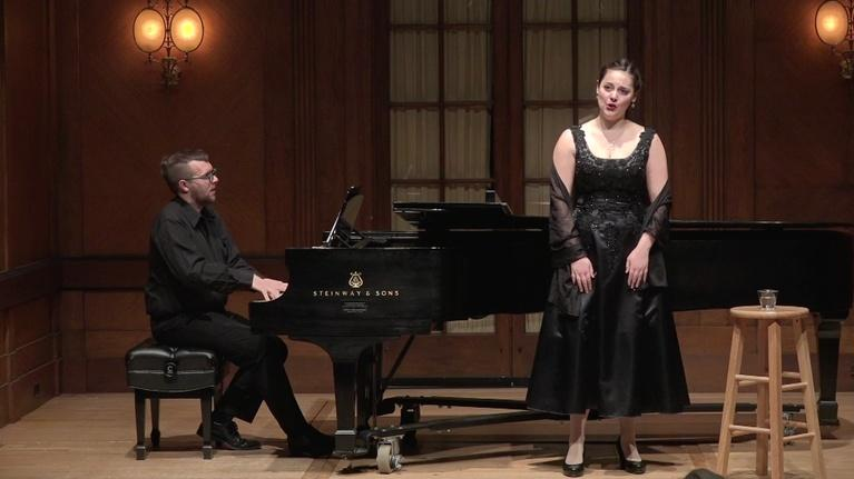 On Stage at Curtis: Songs by Fauré and Barber