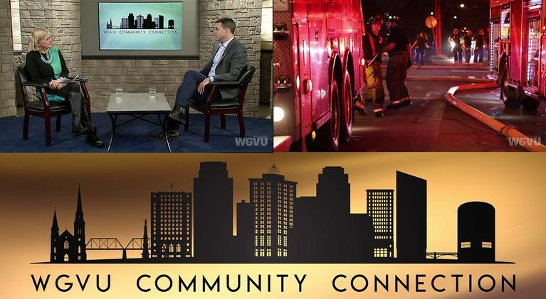 Community Connection: GR Fire Department and Downtown Grand Rapids Inc.