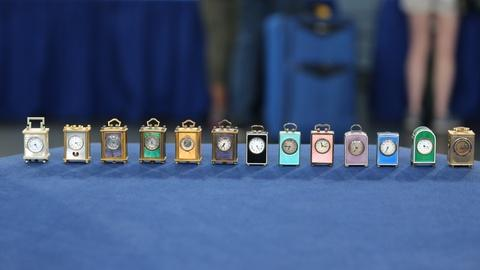 Antiques Roadshow -- Appraisal: Swiss Sub-miniature Carriage Clocks, ca. 1920