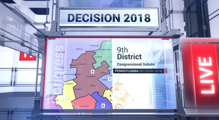 WVIA Special Presentations: 2018 Pennsylvania 9th Congressional District Debate