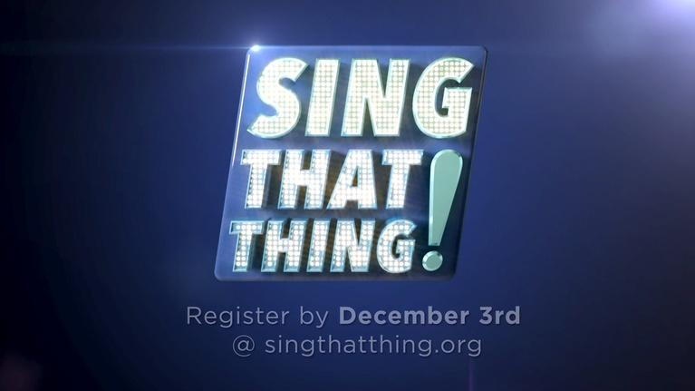 Sing That Thing!: Audition for Season 5 of Sing That Thing!