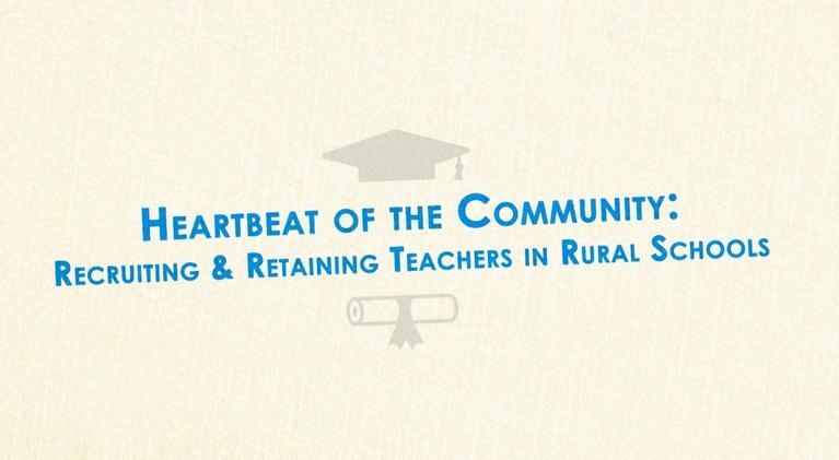 DPTV Education: Recruiting and Retaining Teachers in Rural Schools