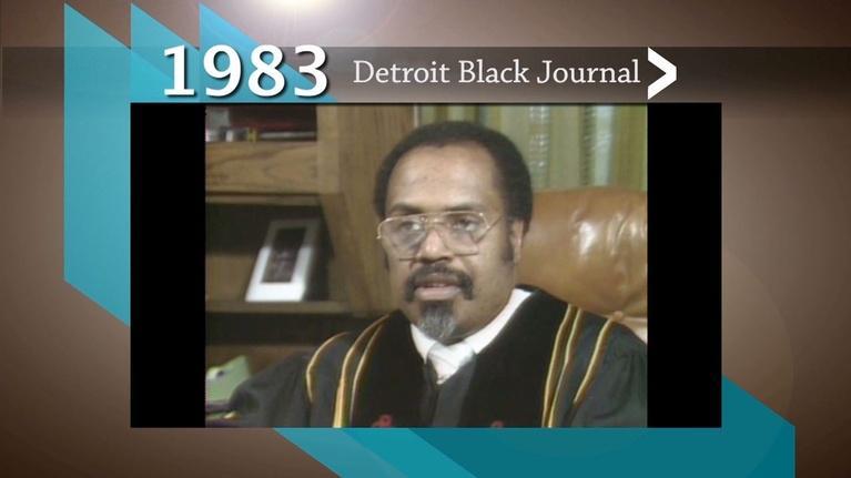 American Black Journal: 1983 Detroit Black Journal Clip: Reverend Adams