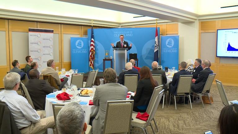 The City Club Forum: How the U.S. Debt Disrupts Our Politics and the Internationa