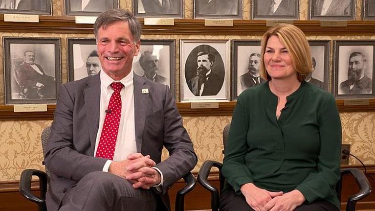 Wyoming Capitol Outlook: Governor-elect Mark Gordon and Jennie Gordon