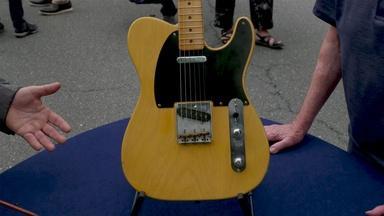 Appraisal: 1950s Fender Broadcaster Neck on Reiusse Body