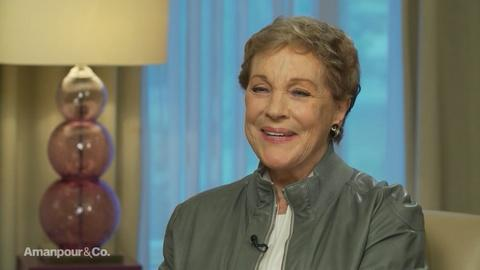 Amanpour and Company -- Julie Andrews Reflects on Her Experiences in Therapy