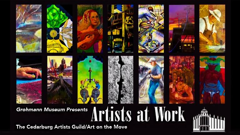 The Arts Page: The Arts Page: Program #533 - Artists at Work