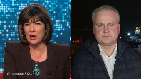 Amanpour and Company -- Danylo Lubvinsky on the Fallout in Ukraine Over Flight 752