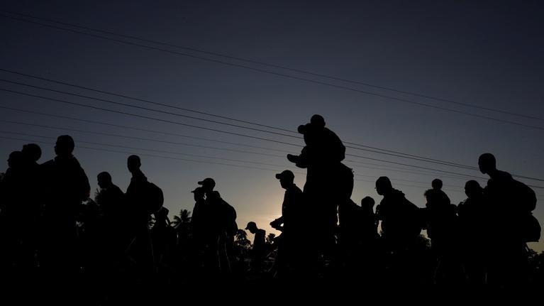 PBS NewsHour: News Wrap: Migrant caravan growing despite Trump's threats