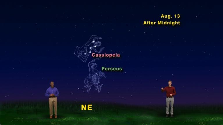 "Star Gazers: ""Summer Meteor Shower"" July 30 - Aug 5th 1 Min"