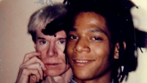 Basquiat and Warhol's Portrait