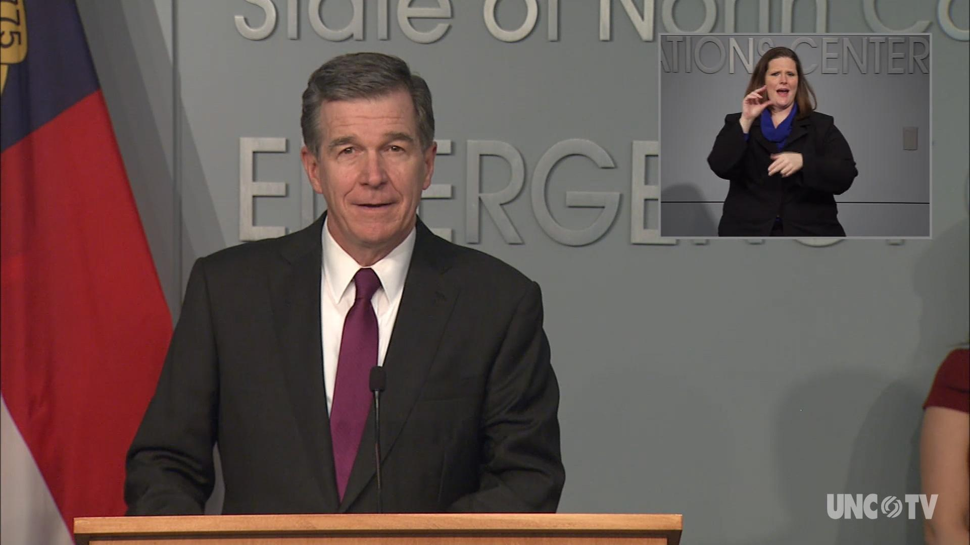 07/01/20 Governor Cooper Briefing (English)