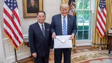 North Korea summit is back on