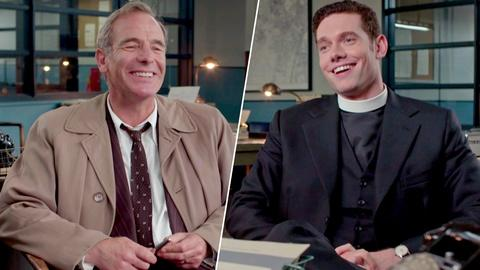 Grantchester -- Do You Know Your Co-Star: Robson Green & Tom Brittney